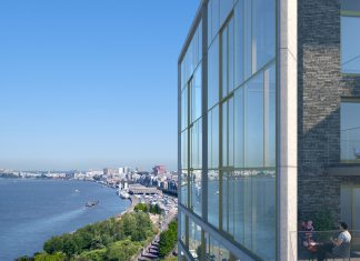Uitzicht Scheldezicht op Nieuw Zuid site te Antwerpen