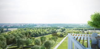Woontoren Zuiderzicht op duurzame woonsite Nieuw Zuid