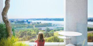 Terras Zuiderzicht op Nieuw Zuid te Antwerpen