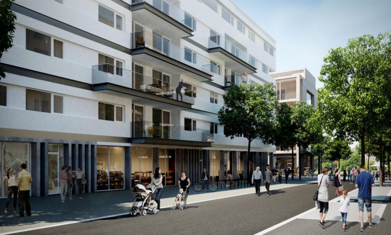 Promenade op duurzame site Nieuw Zuid te Antwerpen