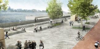 Scheldekaaien Nieuw Zuid te Antwerpen