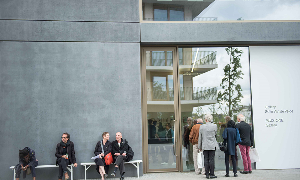 Opening Kunstgallerie op Nieuw Zuid