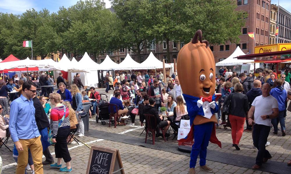 markt op Vakantie op 't Zuid in Antwerpen