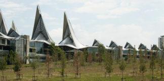 duurzaam wadipark op Nieuw Zuid site te Antwerpen