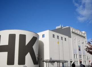 Museum van Hedendaagse Kunsten Antwerpen, vlak aan Nieuw Zuid