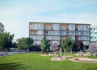 speeltuin op Nieuw Zuid in Antwerpen