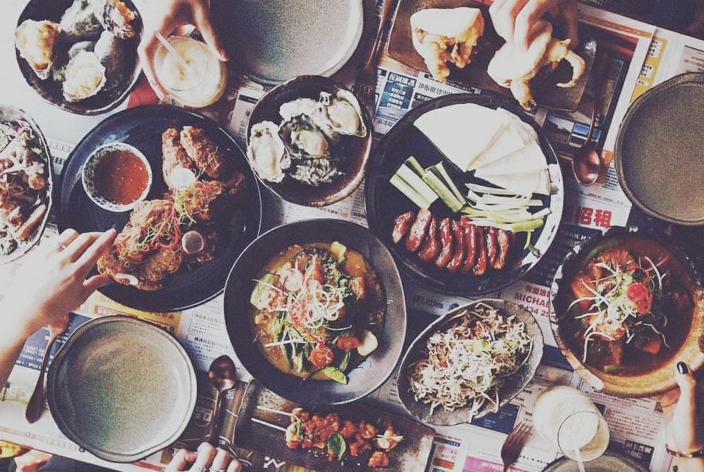 Gerechten bij Aziatisch restaurant Doi Doi in Antwerpen