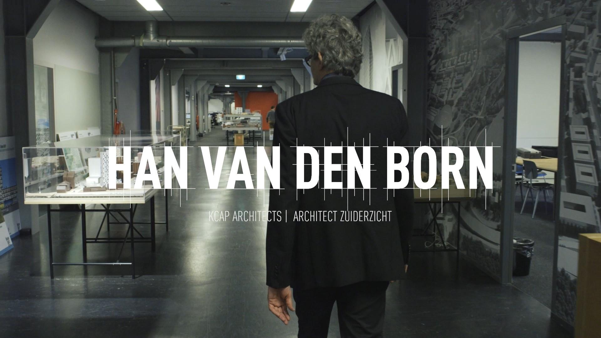 Architect Han van den Born van KCAP Architects