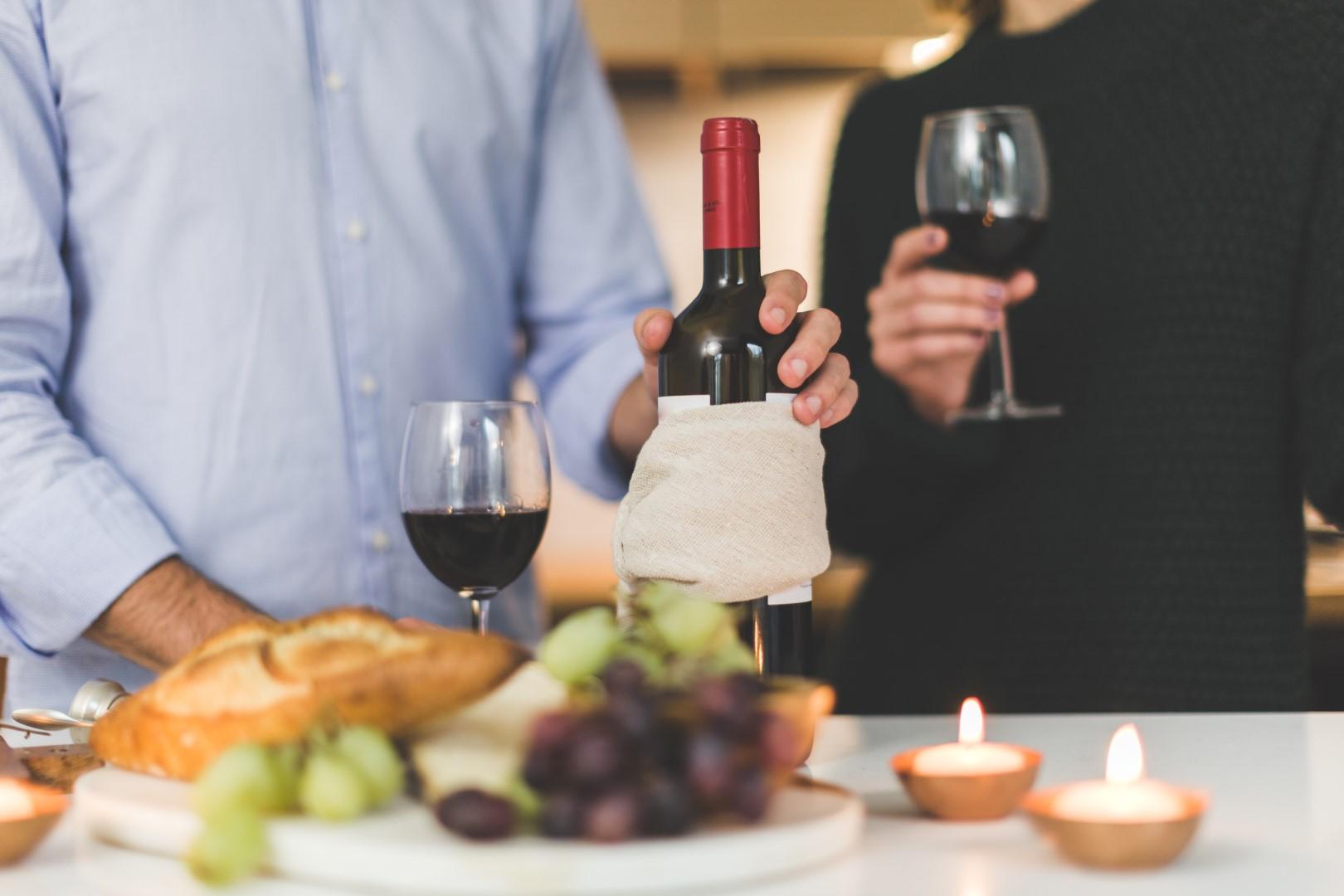 wijn proeven voor moederdag