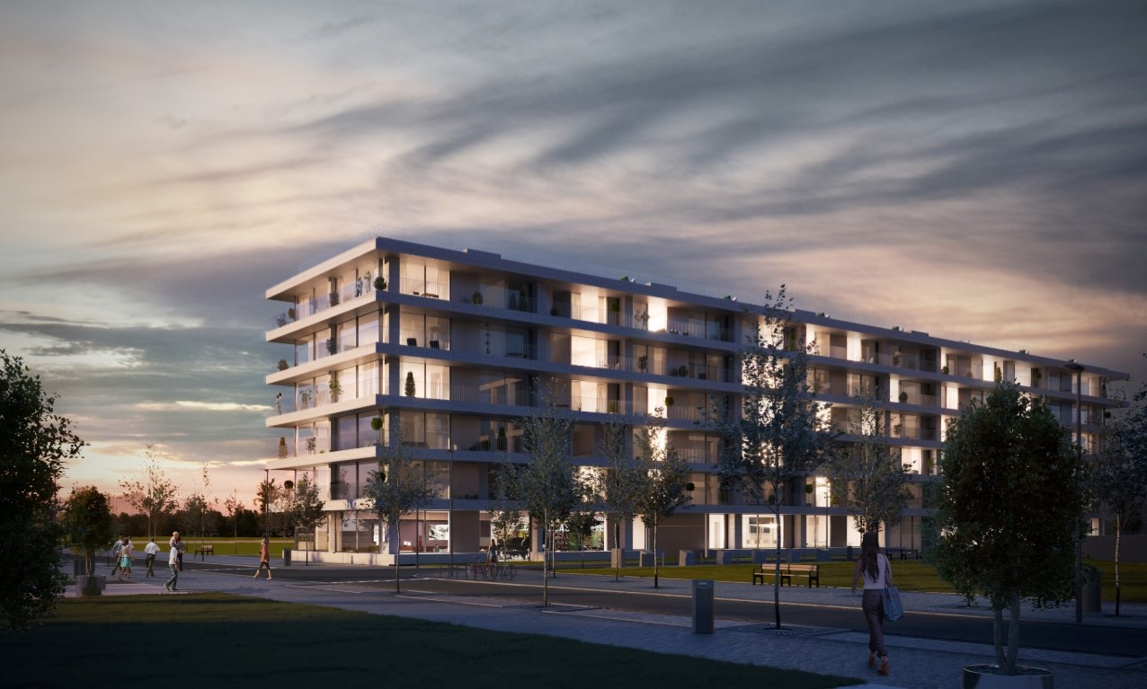 Interieur project HAVN door Zweeds architect Norlander op Nieuw Zuid Antwerpen