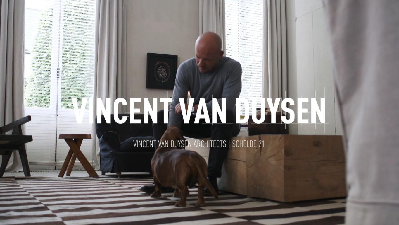 Vincent Van Duysen, ontwerper van assistentiewoningen Schelde 21 op Nieuw Zuid Antwerpen