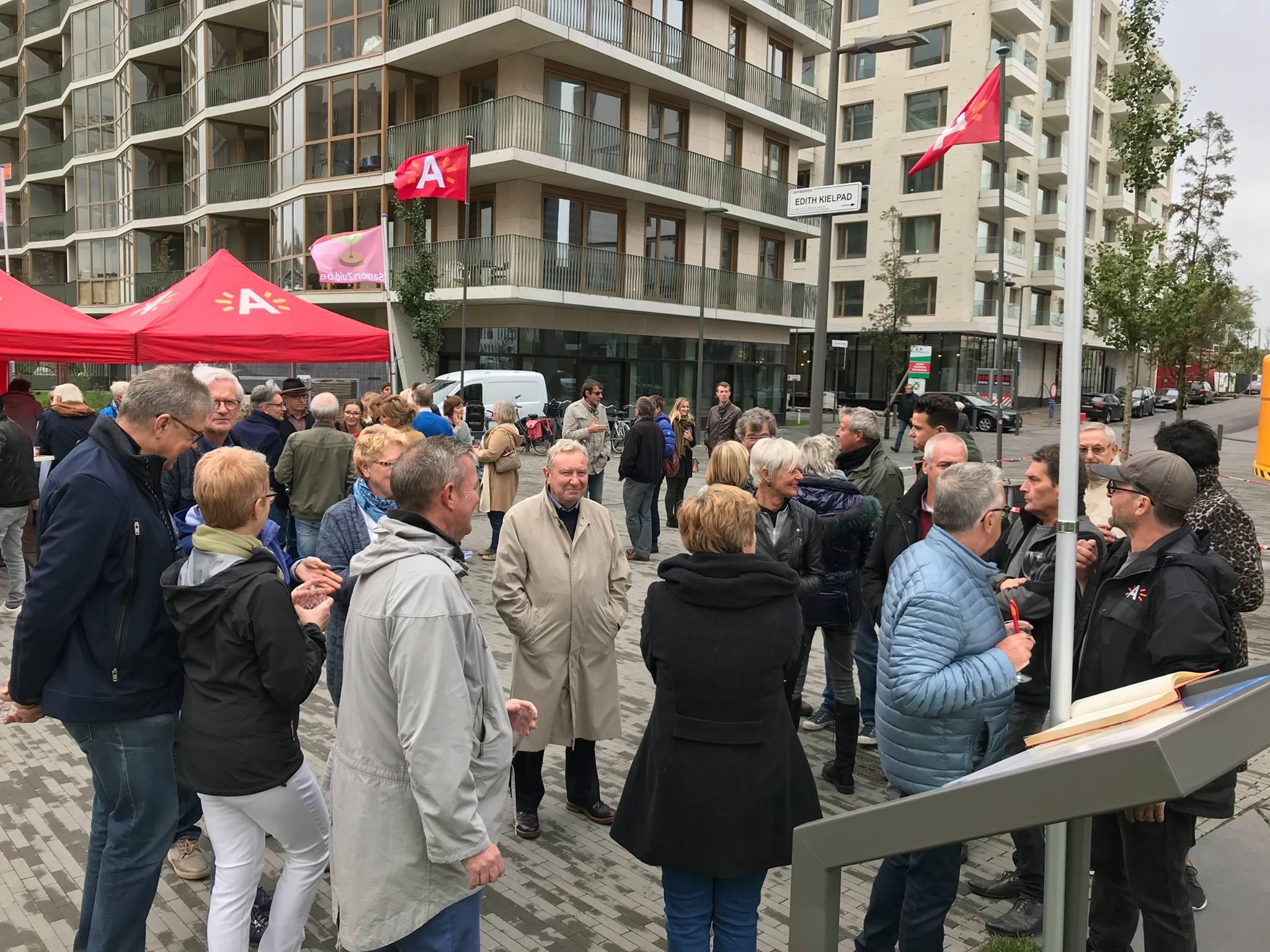SamenZuid buurtfeest in oktober '17 op Nieuw Zuid Antwerpen