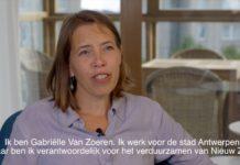 Gabriëlle Van Zoeren, projectregisseur van Nieuw Zuid