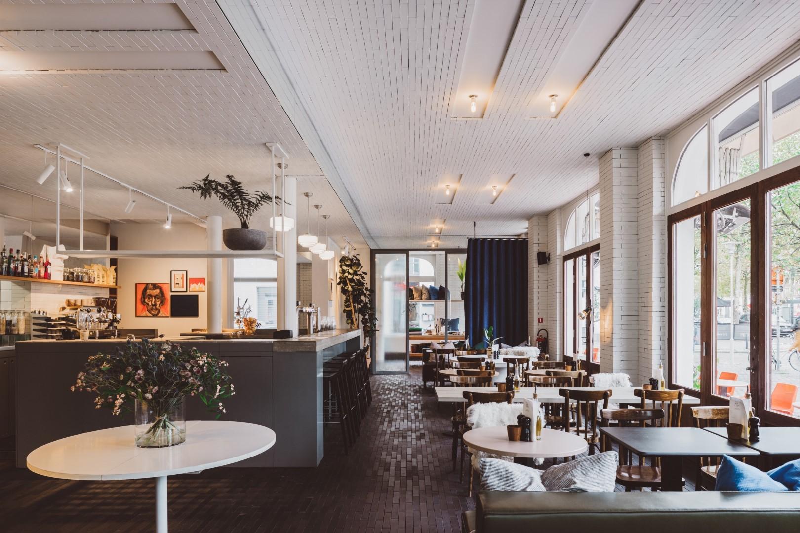 Foodbar in Hotel Pilar op Antwerpen Zuid
